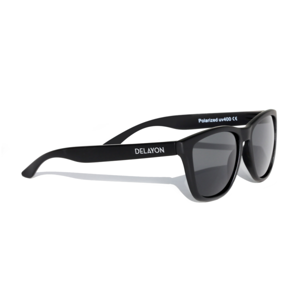 Delayon Eyewear Venture Sunglass all Black
