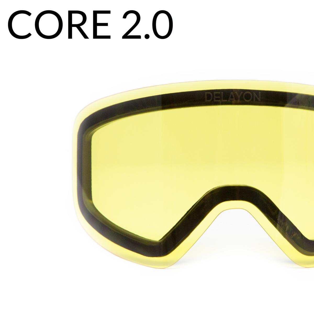 DELAYON Eyewear Core 2.0 STRONG Yellow Lens