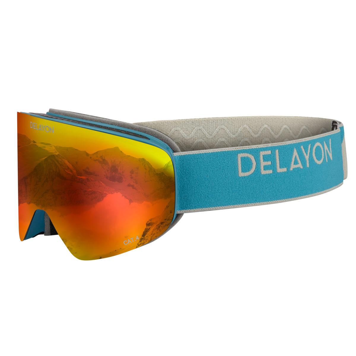 DELAYON Eyewear CORE 2.0 Navy Gray Space Fire