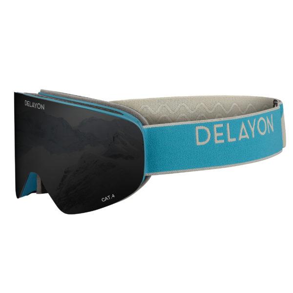DELAYON Eyewear CORE 2.0 Navy Gray STRONG Black