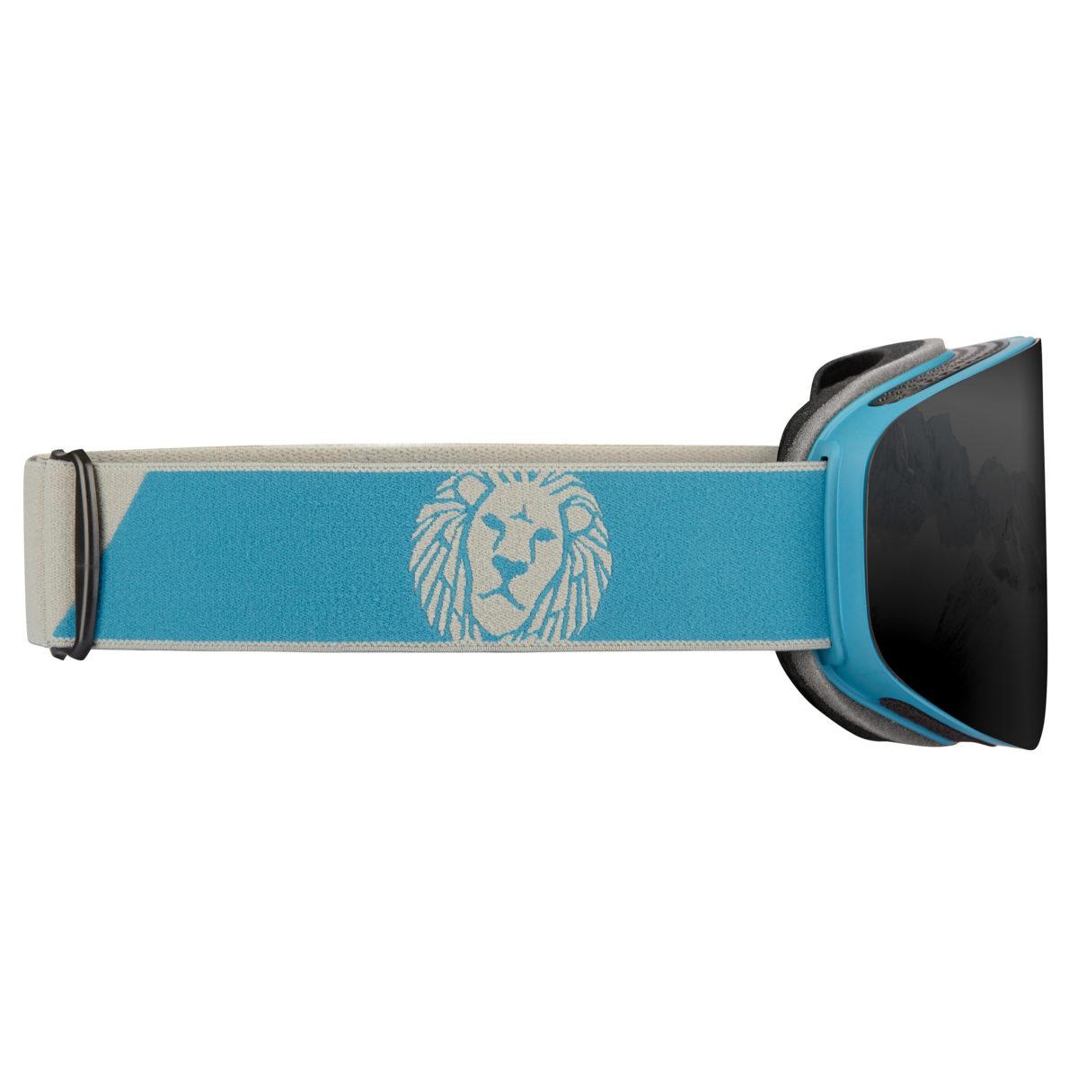 DELAYON Eyewear CORE 2.0 Navy Gray STRONG Black Side