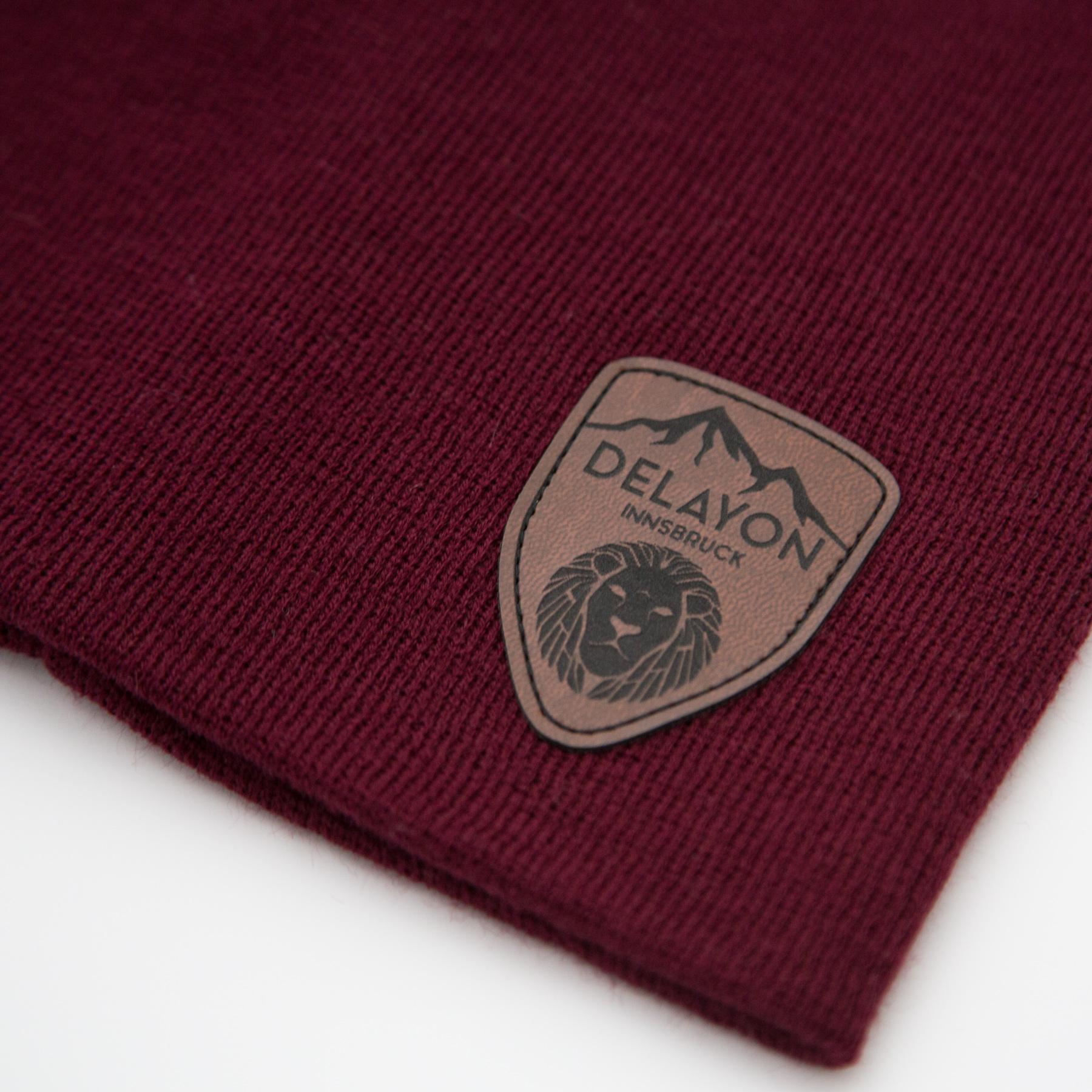DELAYON Eyewear Innsbruck Beanie Bordeaux