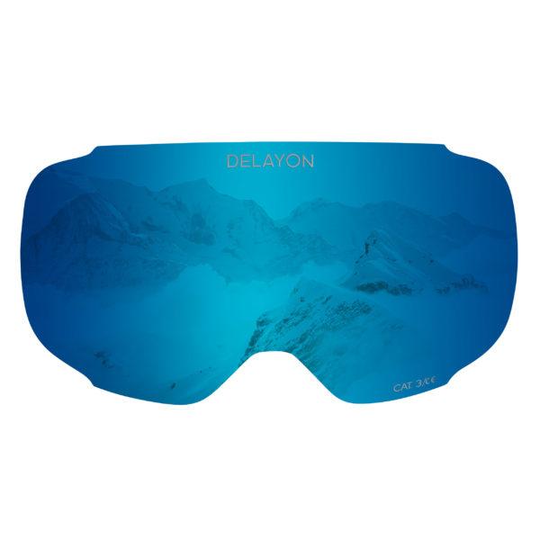 DELAYON Eyewear Explorer Lens Space Blue