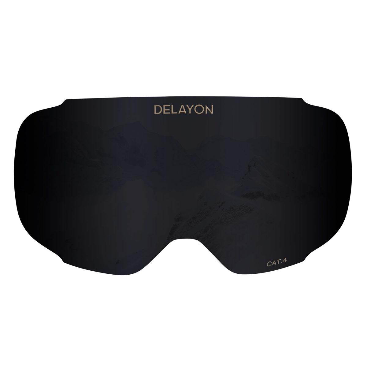DELAYON Eyewear Explorer lens STRONG Black