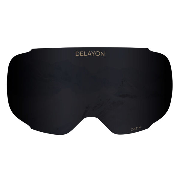 DELAYON Eyewear Explorer lens STRONG Black