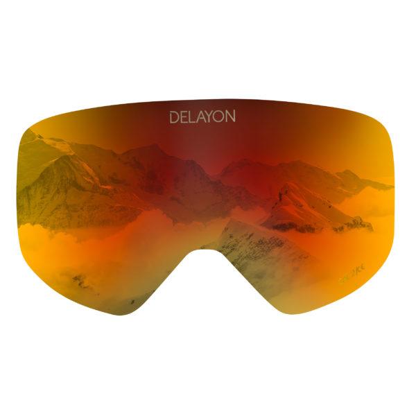 DELAYON Eyewear CORE 2.0 Lens Space Fire