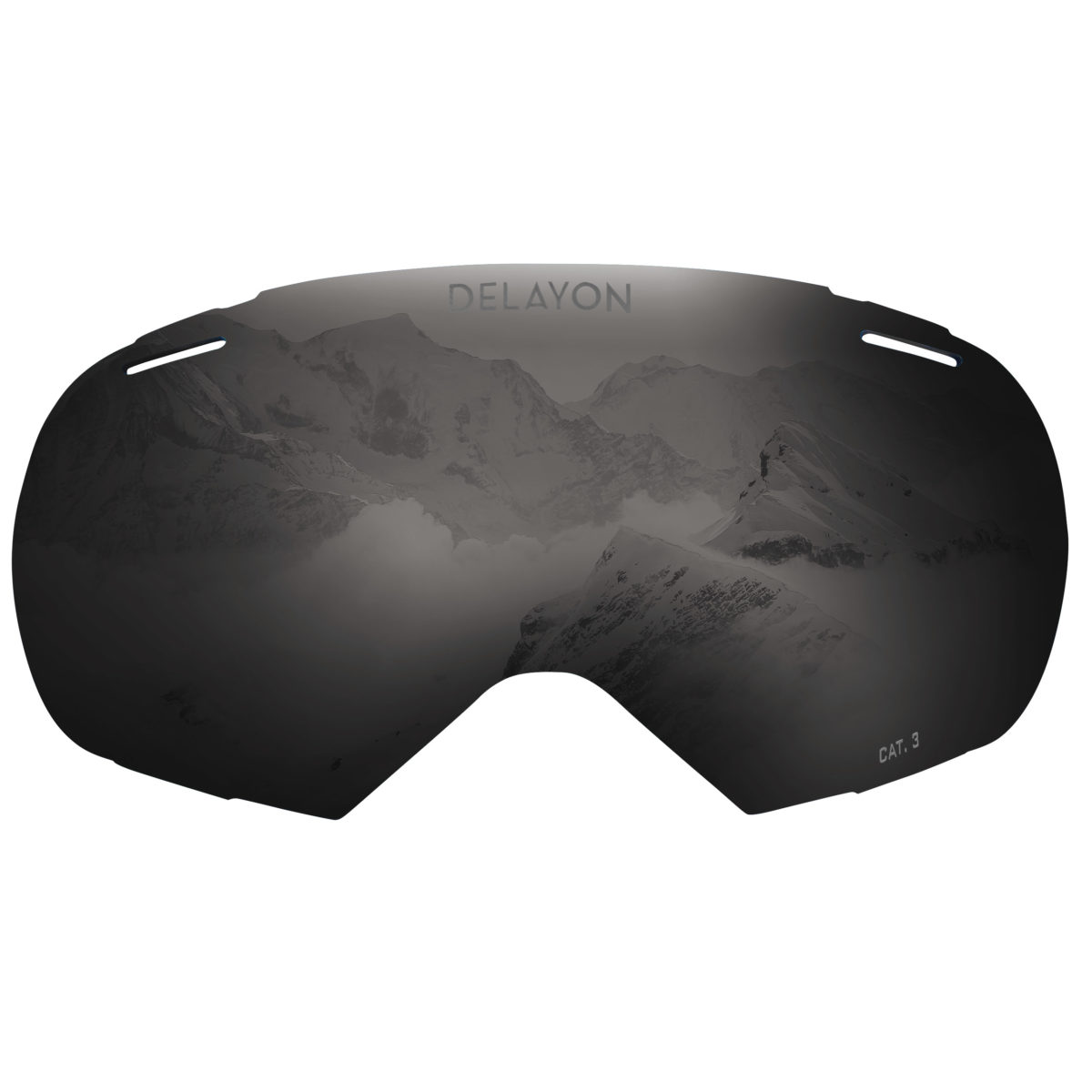 DELAYON Eyewear Puzzle Goggle STRONG Black Lens