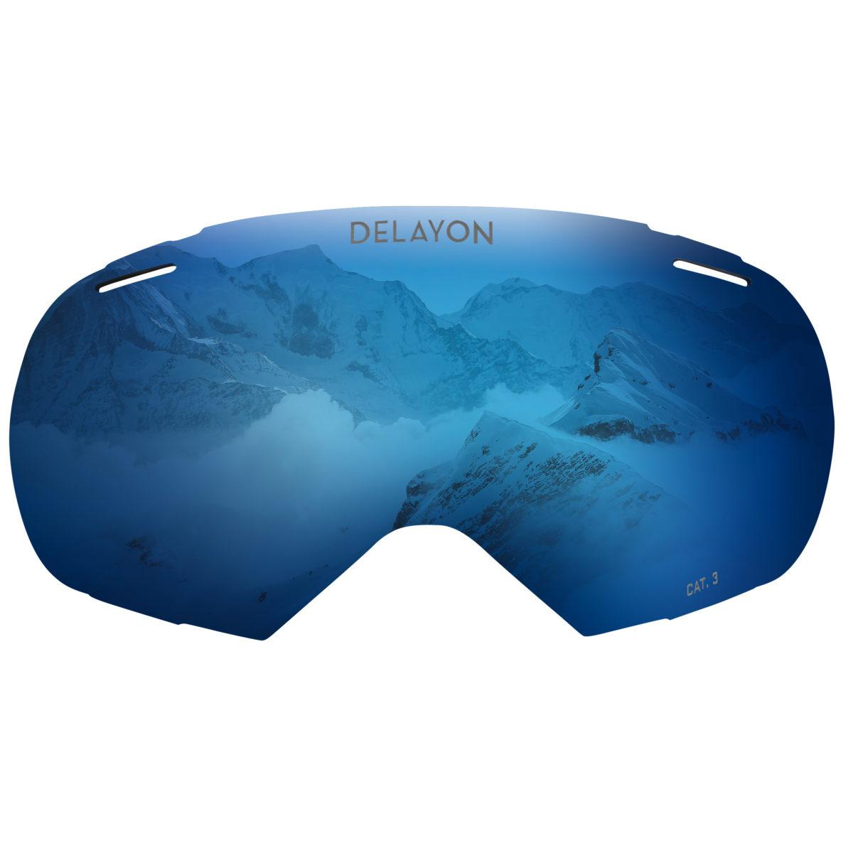 DELAYON Eyewear Puzzle Goggle Space Blue Lens