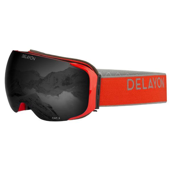 Delayon Eyewear Explorer Goggle Signal Strong Black