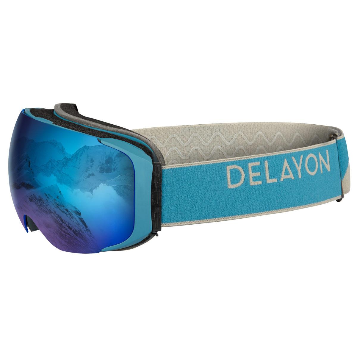 Delayon Eyewear Explorer Goggle Navy Gray Space Blue