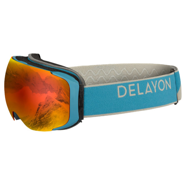 Delayon Eyewear Explorer Goggle Navy Gray Space Fire