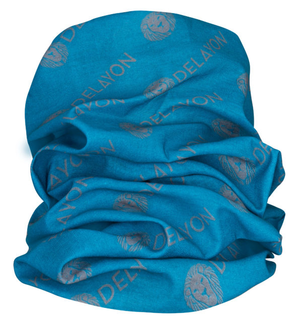 Delayon Neckwarmer Blue / Gray