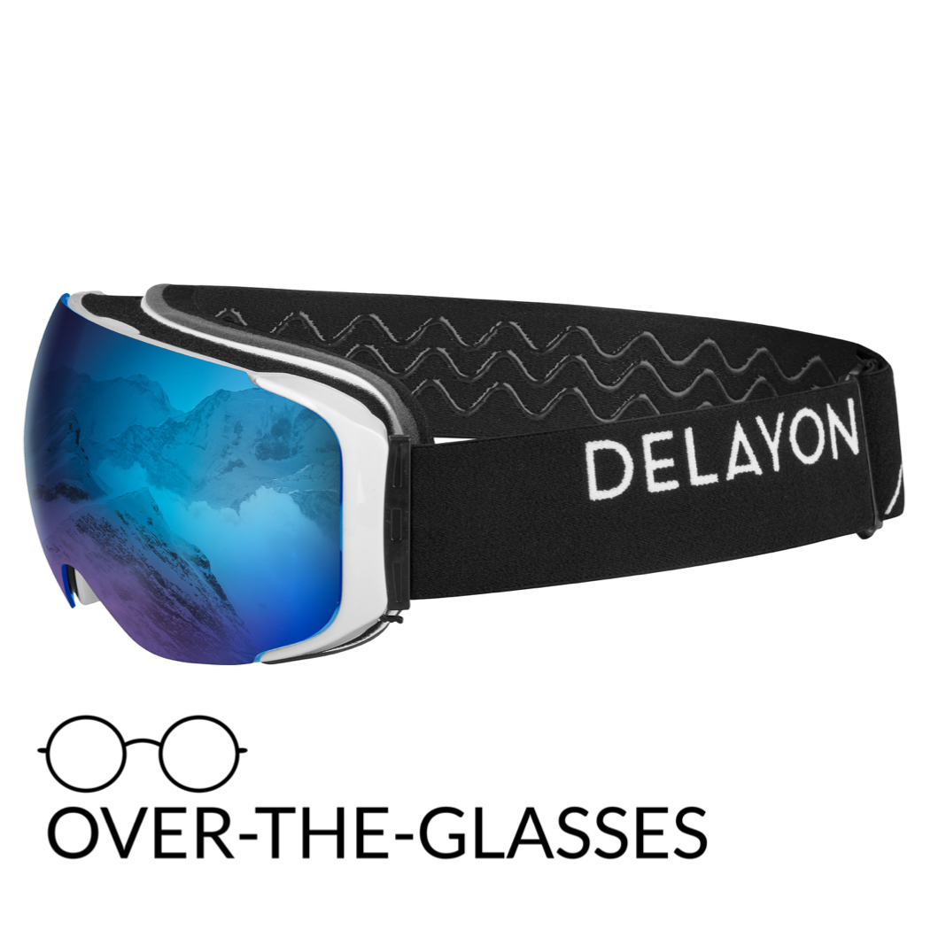 DELAYON Eyewear Explorer OTG White Black Space Blue