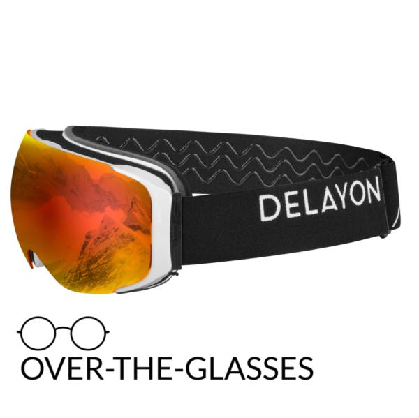 DELAYON Eyewear Explorer OTG White Black STRONG Black