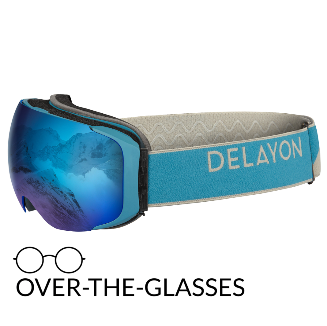DELAYON Eyewear Explorer OTG Navy Gray Space Blue