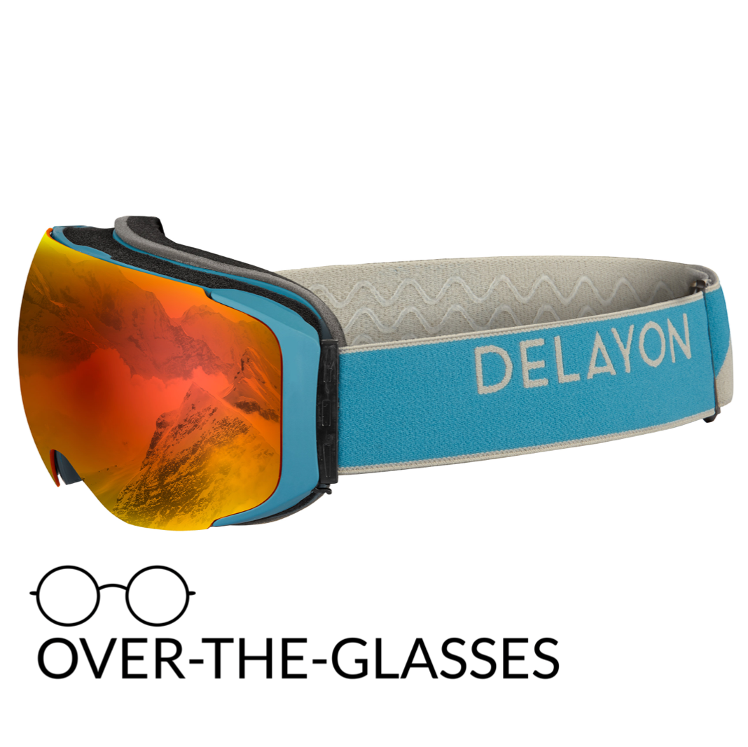 DELAYON Eyewear Explorer OTG Navy Gray Space Fire