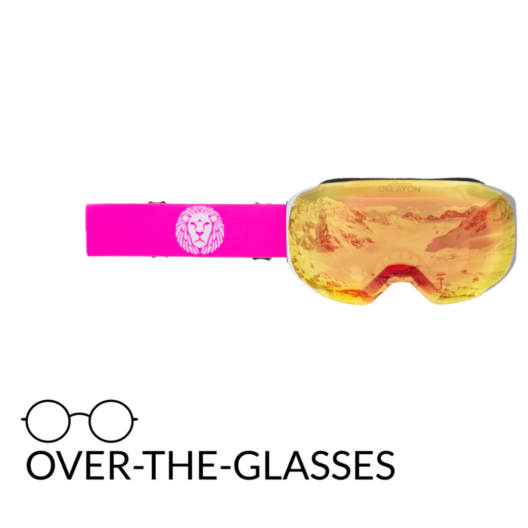 DELAYON Eyewear Explorer OTG White/Pink Space Fire