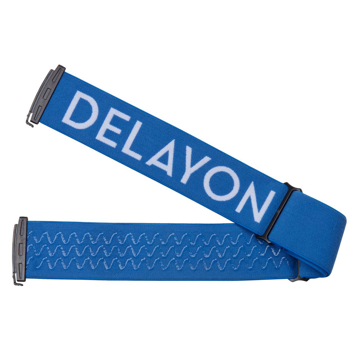 DELAYON Eyewear Explorer Goggle Strap Blue