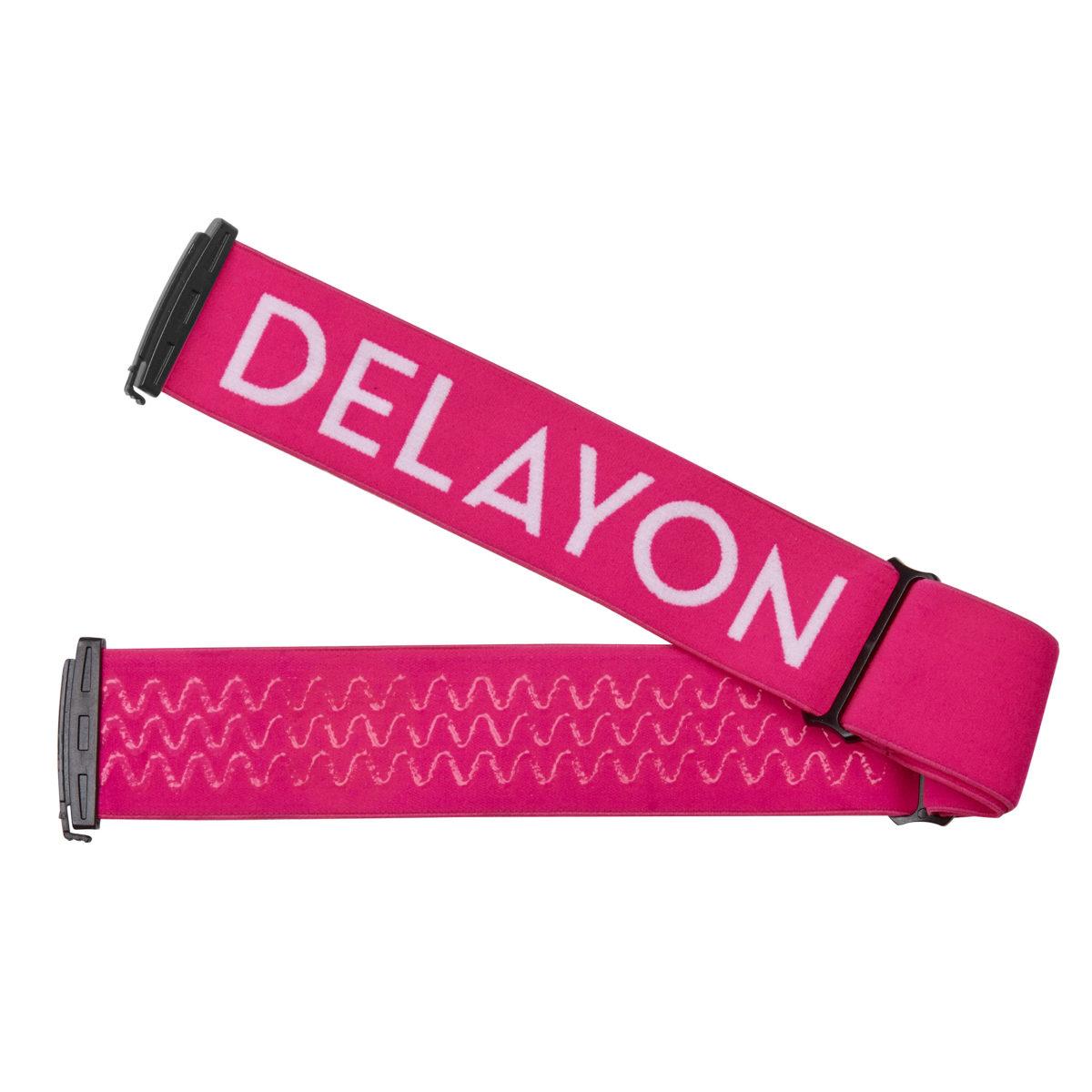DELAYON Eyewear Explorer Goggle Strap Pink