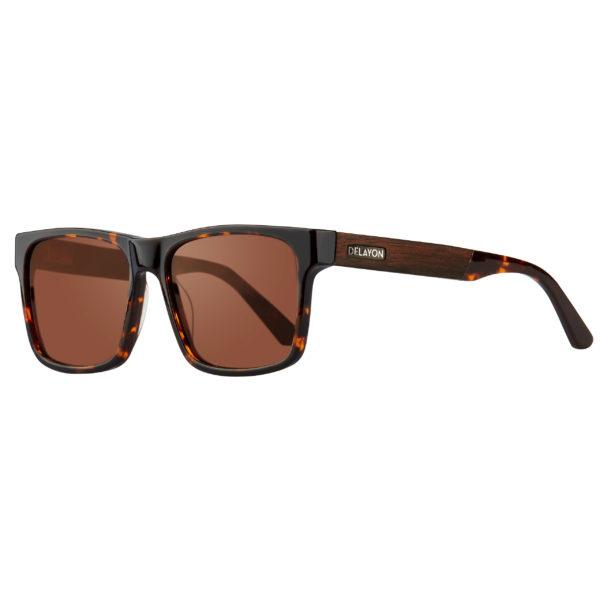 Delayon Eyewear Nomad Sonnenbrille Brown