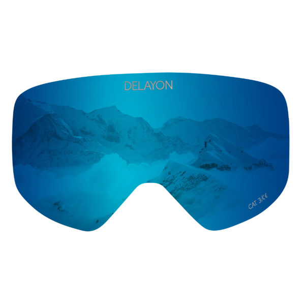 DELAYON Eyewear Core 2.0 Lens Space Blue