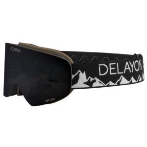 DELAYON Eyewear Tao Kreibich Signature Goggle STRONG Black GoBiq Design