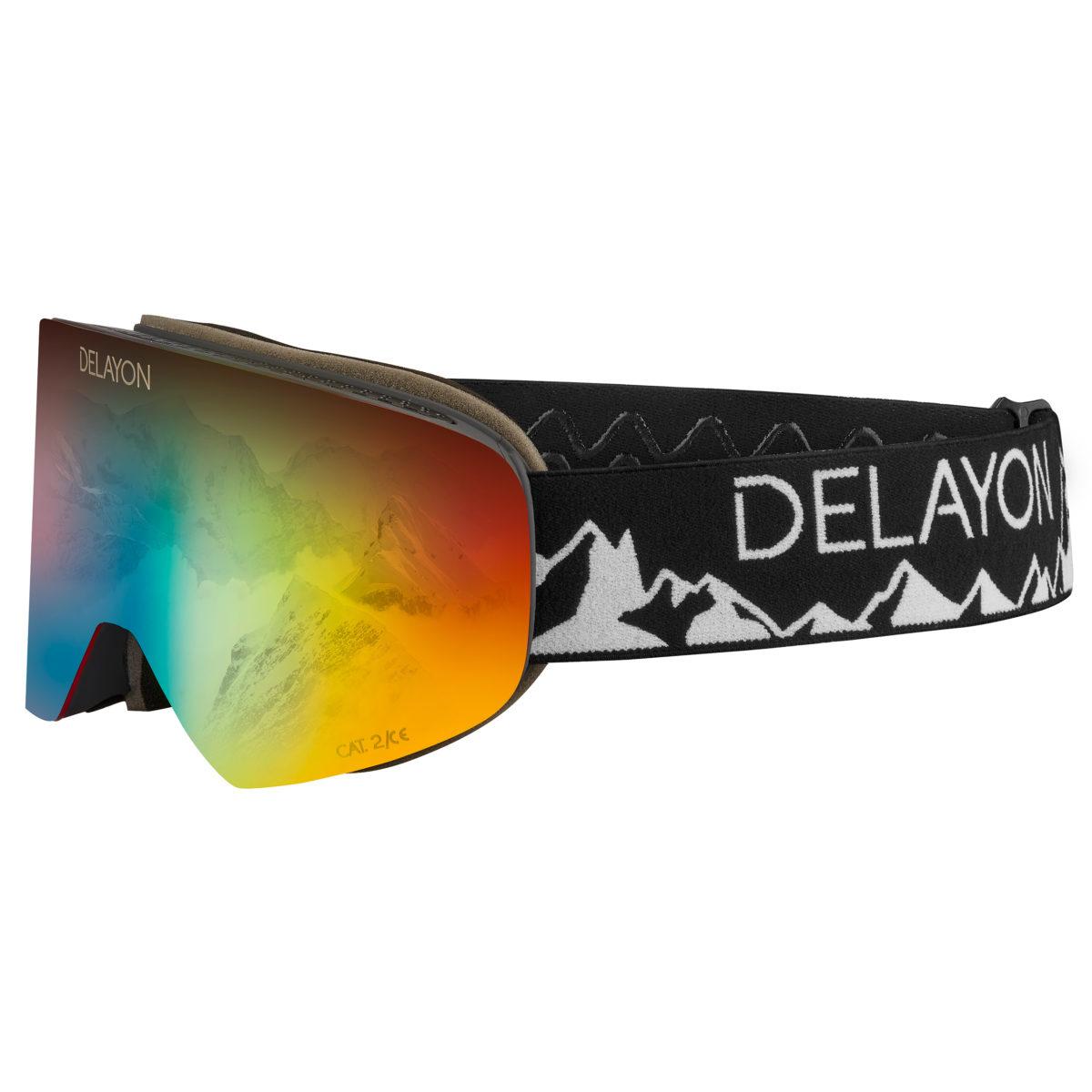 DELAYON Eyewear Tao Kreibich Signature Goggle Space Fire GoBiq Design