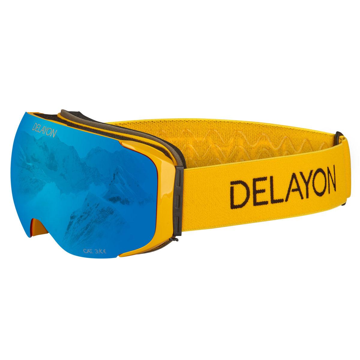 DELAYON Eyewear Explorer Goggle Space Blue Hornet Yellow