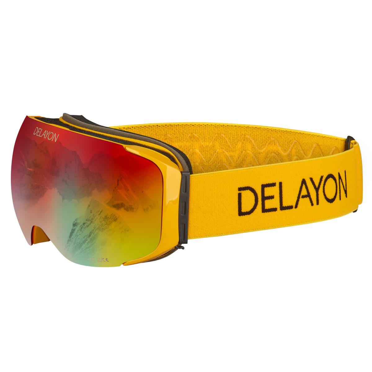DELAYON Eyewear Explorer Goggle Space Fire Hornet Yellow