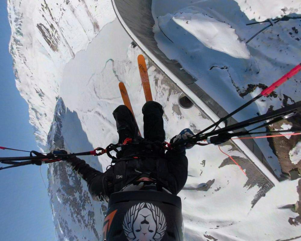DELAYON Eyewear Justin Deisenroth Speedflying Austria