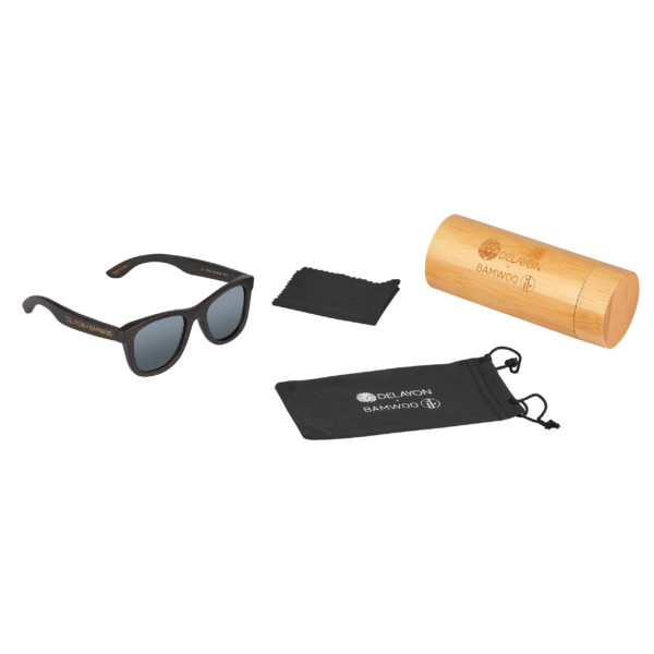 DELAYOn x BAMWOO Jungle Sunglass Dark Silver Set
