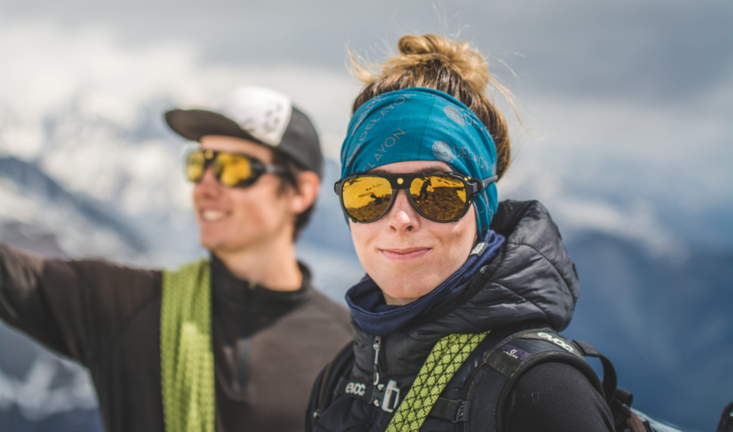 The new couloir sunglasses make you smile
